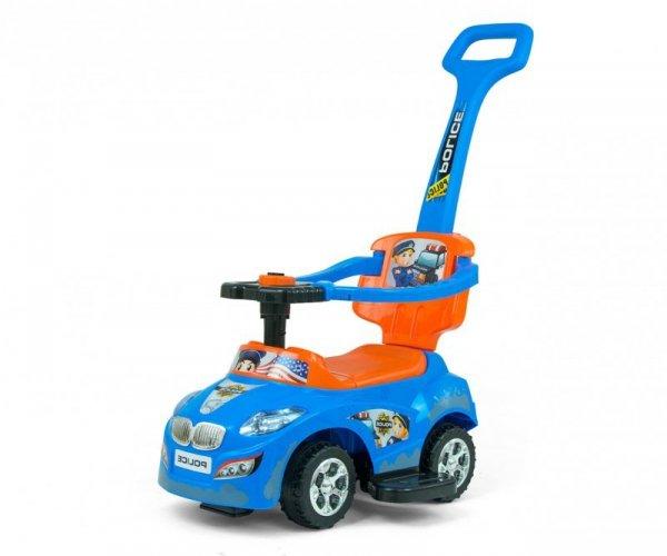 Jeździk 3w1 pchacz Happy Blue-Orange Milly Mally
