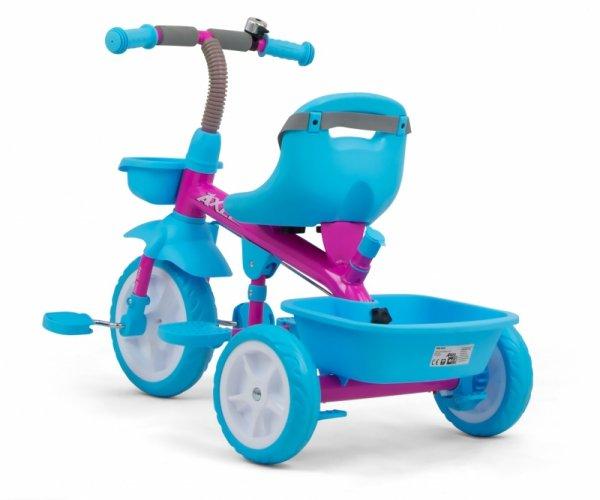 Rowerek Trójkołowy Axel Candy Milly Mally