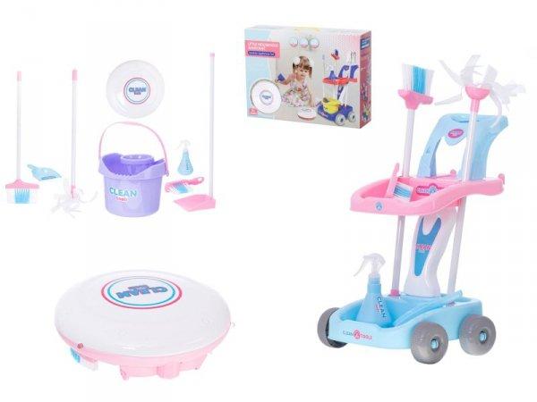 Wózek zestaw do sprzątania + robot odkurzacz