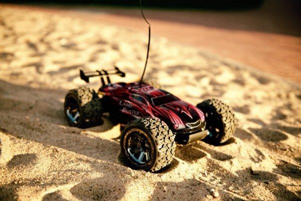 Auto zdalnie sterowane RC NQD Land Buster 4x4 USB 1:12 CZERWONY