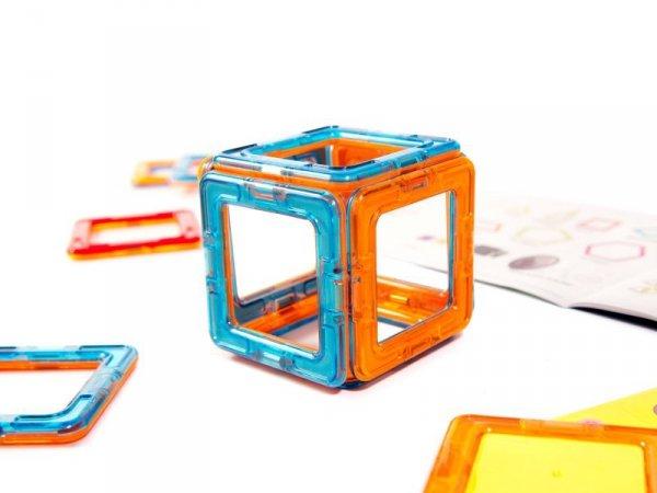 Kolorowe klocki magnetyczne MAGICAL MAGNET 71szt
