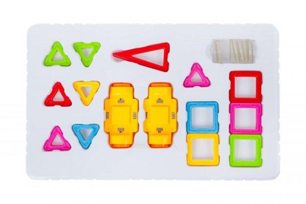 Klocki magnetyczne MAGICAL MAGNET MINI 38szt