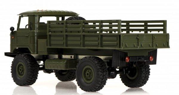 Auto zdalnie sterowane RC wojskowe Off-Road 4WD 1:16 RTR