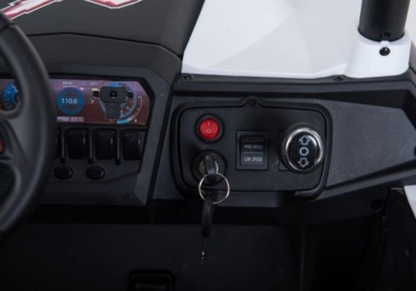 Auto na Akumulator Jeep XMX603 Niebieski