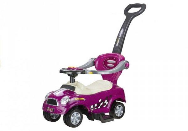 Jeździk pchacz z Prowadnicą Coupe Fioletowy