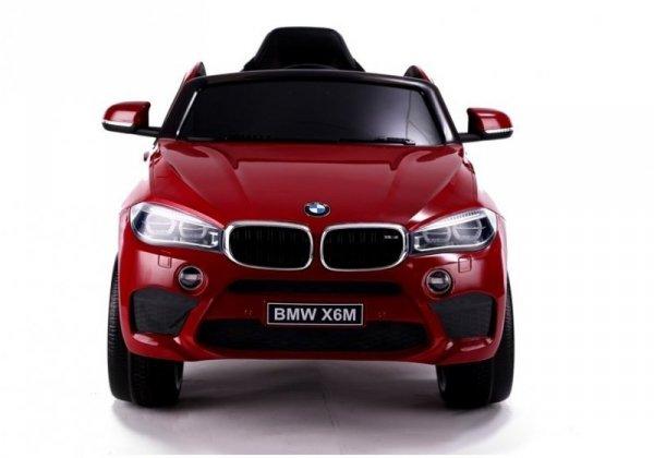 Auto na Akumulator BMW X6 Czerwony Lakierowany