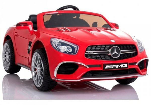 Auto na akumulator Mercedes SL65 LCD Czerwony