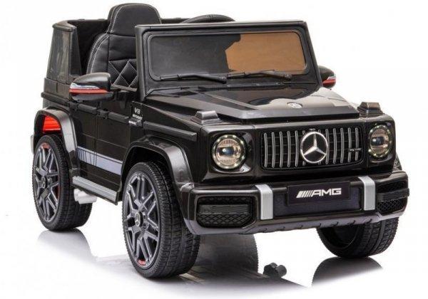 Auto na Akumulator Mercedes G63 AMG Czarny Lakierowany