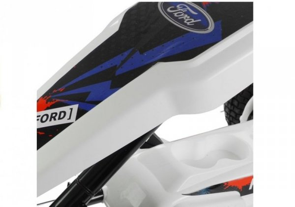 Gokart na Akumulator DK-G01 Biały