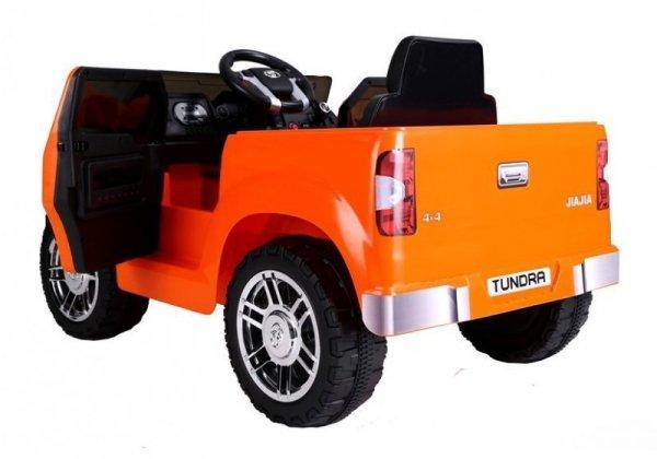 Auto na akumulator Toyota Tundra Pomarańcz Lakierowany Koła EVA
