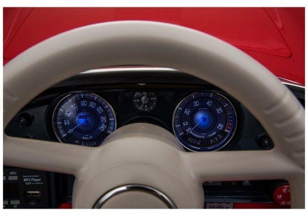 Auto na Akumulator BMW Retro Czerwone Lakierowane