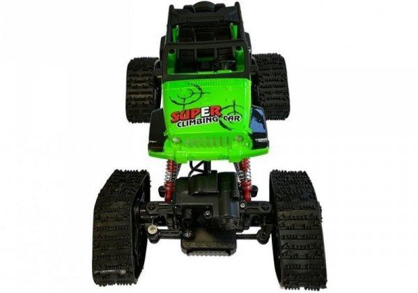 Jeep Zdalnie Sterowane Terenowe R/C Zielony 4x4