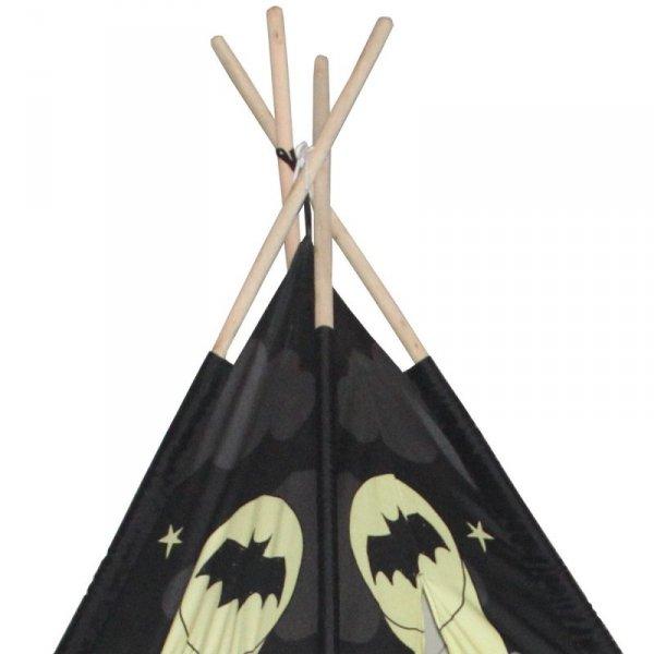 Namiot tipi Enero toys mata i poduszki bat