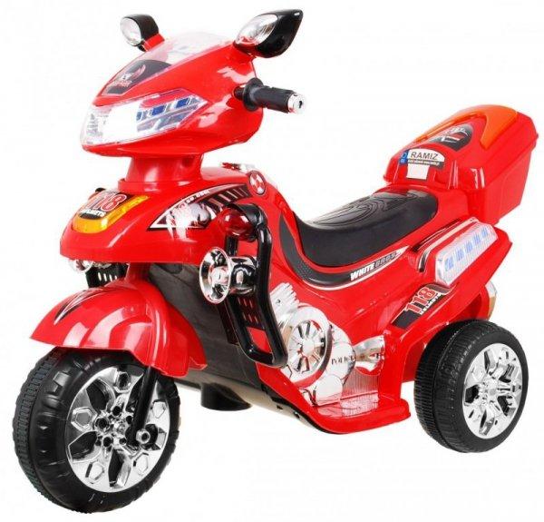 Motor na akumulator dla dzieci Czerwony