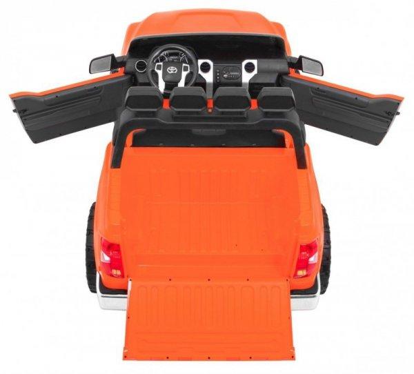 Auto na akumulator Toyota Tundra XXL Pomarańczowa