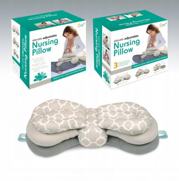Regulowana poduszka do karmienia dziecka książeczka