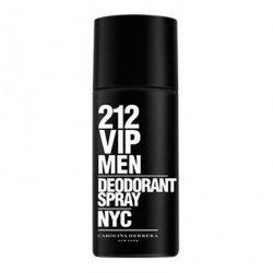 CAROLINA HERRERA 212 VIP MEN dezodorant w sprayu dla mężczyzn 150ml