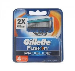 GILLETTE Fusion Proglide wkład do maszynki dla mężczyzn 4 szt.