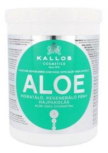 KALLOS COSMETICS Aloe Vera maska regenerująca do włosów zniszczonych dla kobiet 1000ml