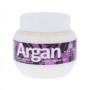 KALLOS COSMETICS Argan maska do włosów farbowanych dla kobiet 275ml