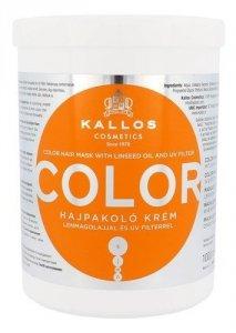 KALLOS COSMETICS Color maska do włosów farbowanych dla kobiet 1000ml