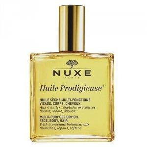 NUXE Huile Prodigieuse Multi Purpose Dry Oil Face Body Hair pielęgnujący suchy olejek do twarzy, ciała i włosów 50ml