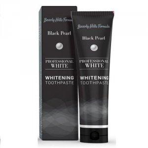 BEVERLY HILLS Professional White Whitening Toothpaste wybielajaca pasta do zębów Black Pearl 100ml