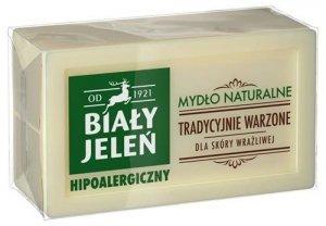 BIAŁY JELEŃ Hipoalergiczny Tradycyjnie Warzone mydło naturalne 150g