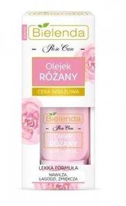 BIELENDA Rose Care olejek różany do twarzy dla cery wrażliwej 15ml