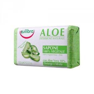 EQUILIBRA Aloe Detersione Naturale 100% Vegetal Soap aloesowe mydło Aloe 100g