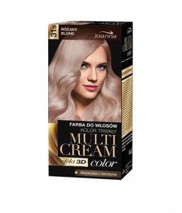 JOANNA Multi Cream Color farba do włosów 31.5 Różany Blond