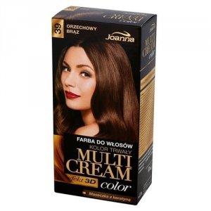 JOANNA Multi Cream Color farba do włosów 39 Orzechowy Brąz