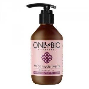 ONLYBIO Fitosterol hipoalergiczny żel do mycia twarzy z olejem z rzepaku 250ml