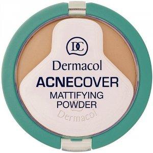 DERMACOL Acnecover Mattifying Powder puder w kamieniu dla kobiet 11g (Shell)