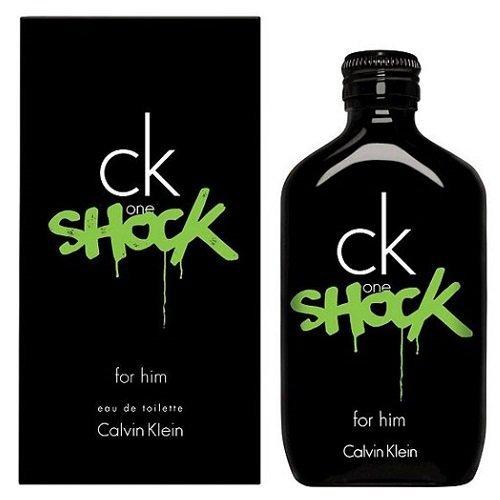 CALVIN KLEIN One Shock For Him woda toaletowa dla mężczyzn 200ml