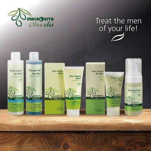 MACROVITA OLIVE-ELIA FOR MEN SEDUCTIVE żel pod prysznic dla mężczyzn z bio-składnikami 200ml
