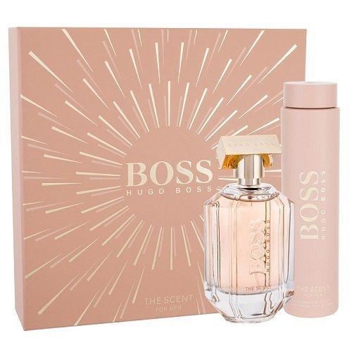 ZESTAW HUGO BOSS Boss The Scent For Her woda perfumowana dla kobiet 100ml + balsam do ciała 200ml