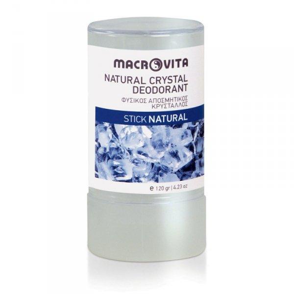 MACROVITA dezodorant w sztyfcie z naturalnego kryształu 120g