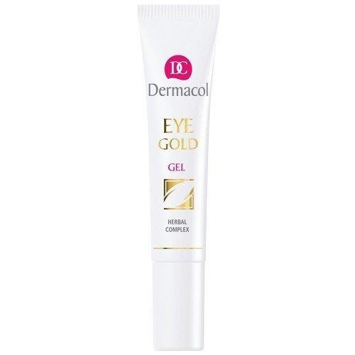 DERMACOL Eye Gold Gel żel pod oczy dla kobiet 15ml