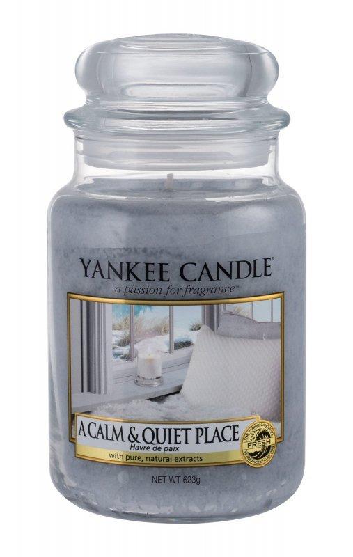 Yankee Candle A Calm & Quiet Place (Świeczka zapachowa, U, 623g)