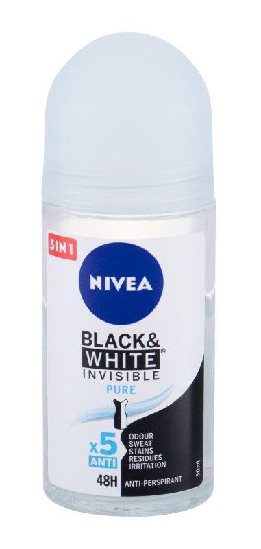 Nivea Black & White Invisible (Antyperspirant, W, 50ml)