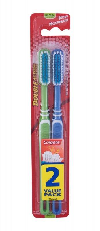 Colgate Double Action (Szczoteczka do zębów, U, 2szt)
