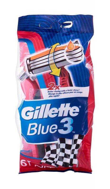 Gillette Blue3 (Maszynka do golenia, M, 6szt)