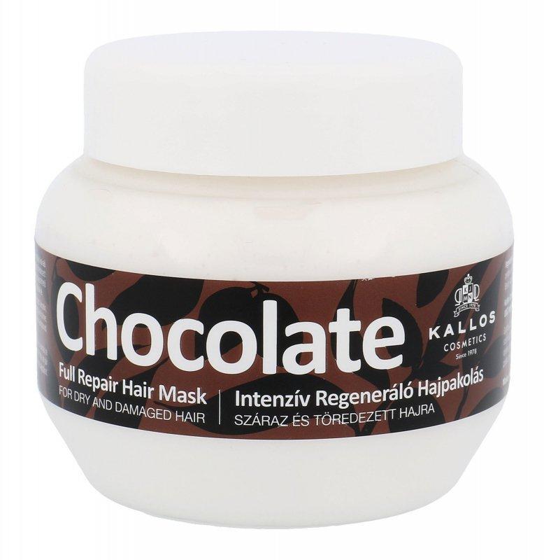 Kallos Cosmetics Chocolate (Maska do włosów, W, 275ml)