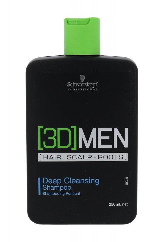 Schwarzkopf Professional 3DMEN (Szampon do włosów, M, 250ml)