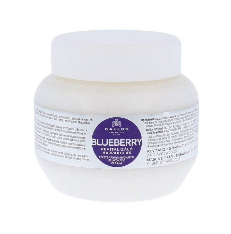 Kallos Cosmetics Blueberry (Maska do włosów, W, 275ml)