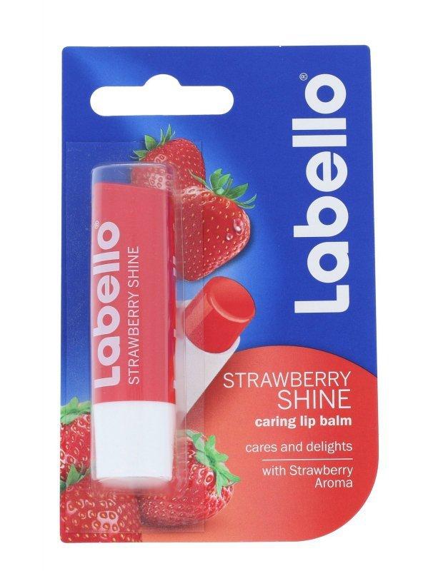 Labello Strawberry Shine (Balsam do ust, W, 5,5ml)