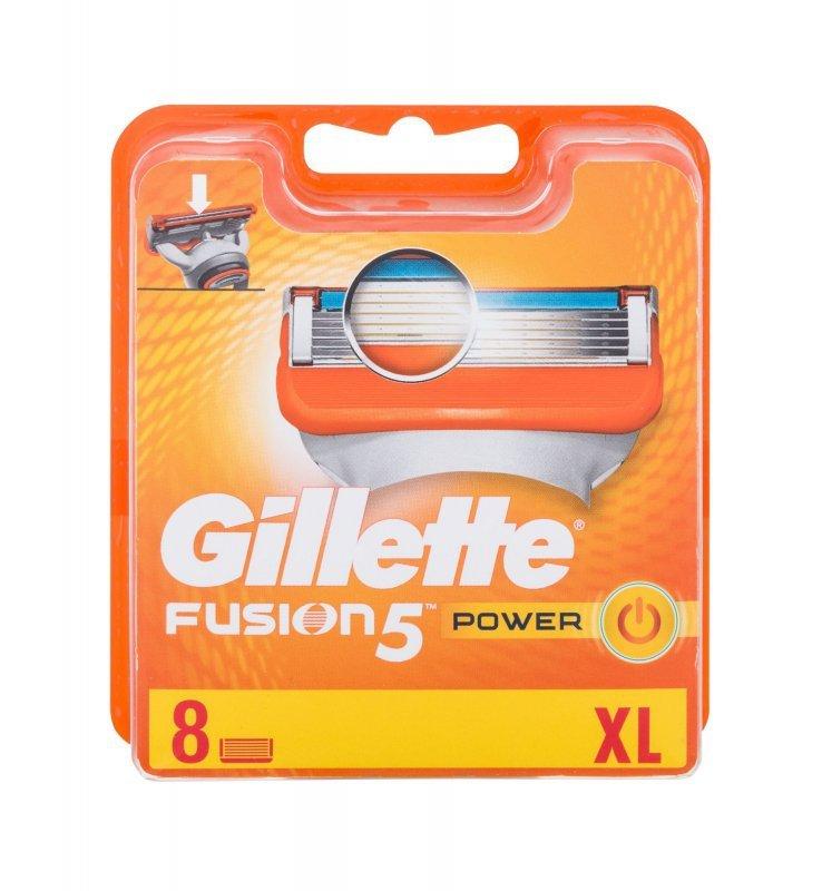 Gillette Fusion (Wkład do maszynki, M, 8szt)