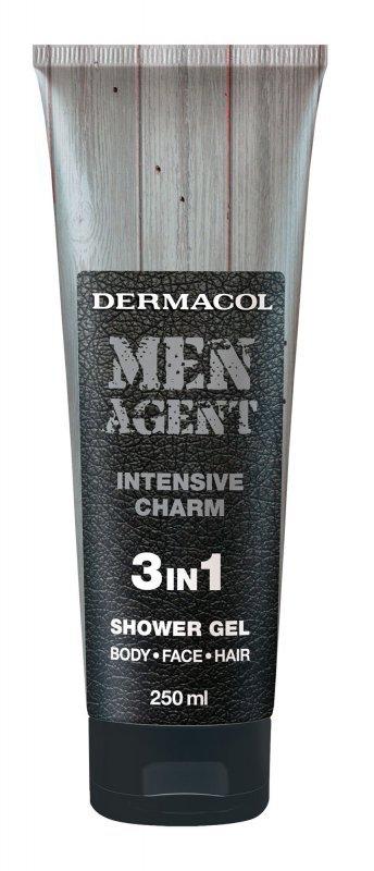 Dermacol Men Agent (Żel pod prysznic, M, 250ml)