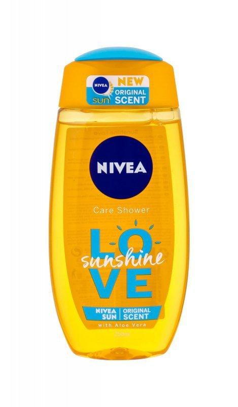 Nivea Love Sunshine (Żel pod prysznic, W, 250ml)
